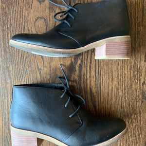 Clark's Lace up Booties